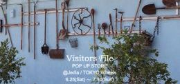 Visitors File POP UP STORE!